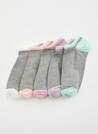 DeFacto Çorap Seti Renkli